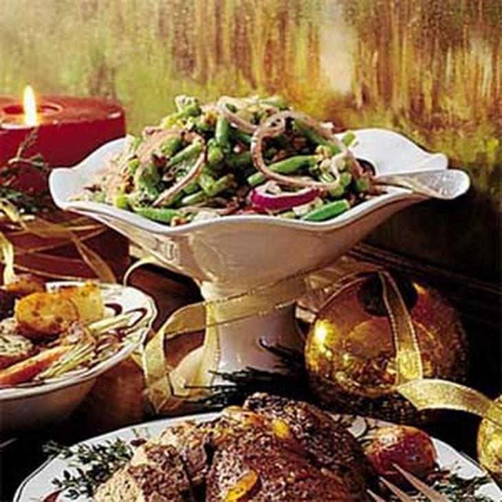 Green Bean, Walnut, and Feta Salad Recipe   Yummly