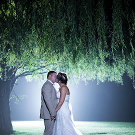 The 2 of us by Lood Goosen (LWG Photo) - Wedding Bride & Groom ( wedding photography, wedding photographers, wedding day, weddings, wedding, bride and groom, wedding photographer, bride, groom, night shoot, bride groom )