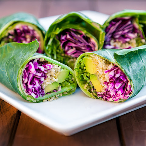Quinoa and Hummus Stuffed Wraps for a Sugar-Free Detox