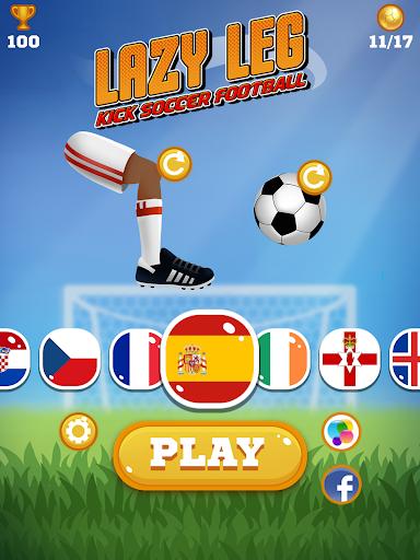 Lazy Leg: Kick Soccer Football - screenshot