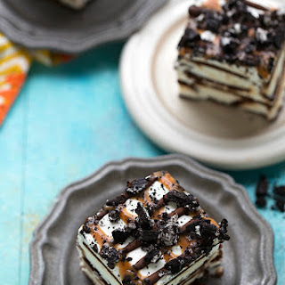 Lightened-up Ice Cream Sandwich Cake