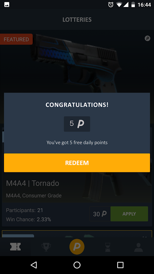 CSLottery - Win Skins für CSGO android apps download
