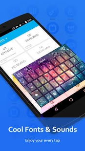 Download GO Keyboard - Emoji keyboard, Swipe input, GIFs APK for Android Kitkat