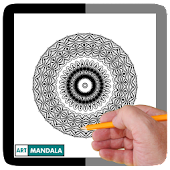 App Mandala Art : Coloring book for adults APK for Kindle