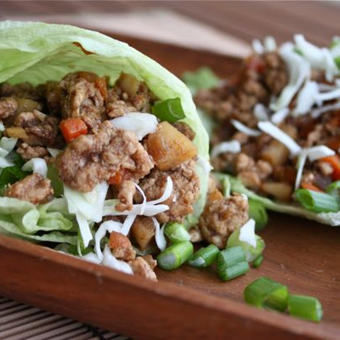 Chinese 5-Spice Turkey Lettuce Wraps
