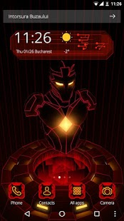 Red Iron Hero 3D Theme Für PC Windows & Mac