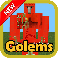 Golems MOD for MCPE
