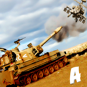 Gunship Helicopter Tank War 3D