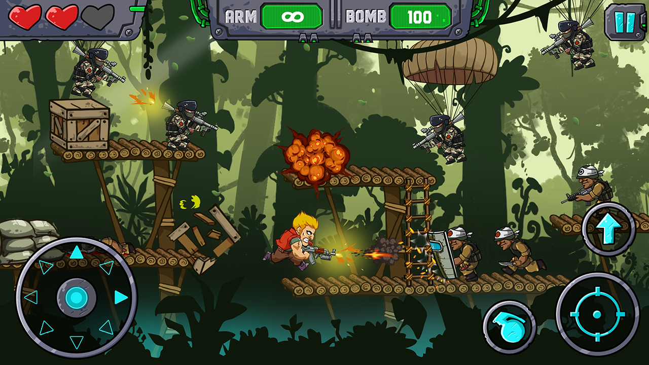 Metal Shooter: Super Soldiers Screenshot 2