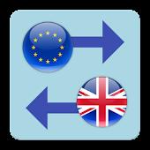 Euro x British Pound Converter