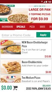 Free Download Papa John's Pizza APK for Samsung