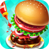 Burger Shop - Kids Cooking APK for Bluestacks