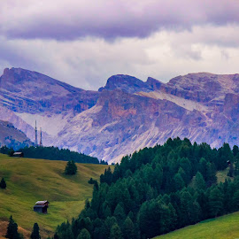 High sierras by William Lanza - Landscapes Mountains & Hills ( clouds, mountains, dolomiyes, valleys, sierras )
