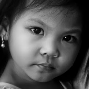 Impeccable Gaze by Wallei Trinidad - Babies & Children Children Candids