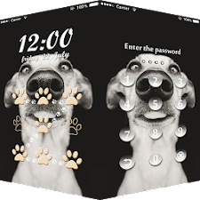 AppLock Theme Dog