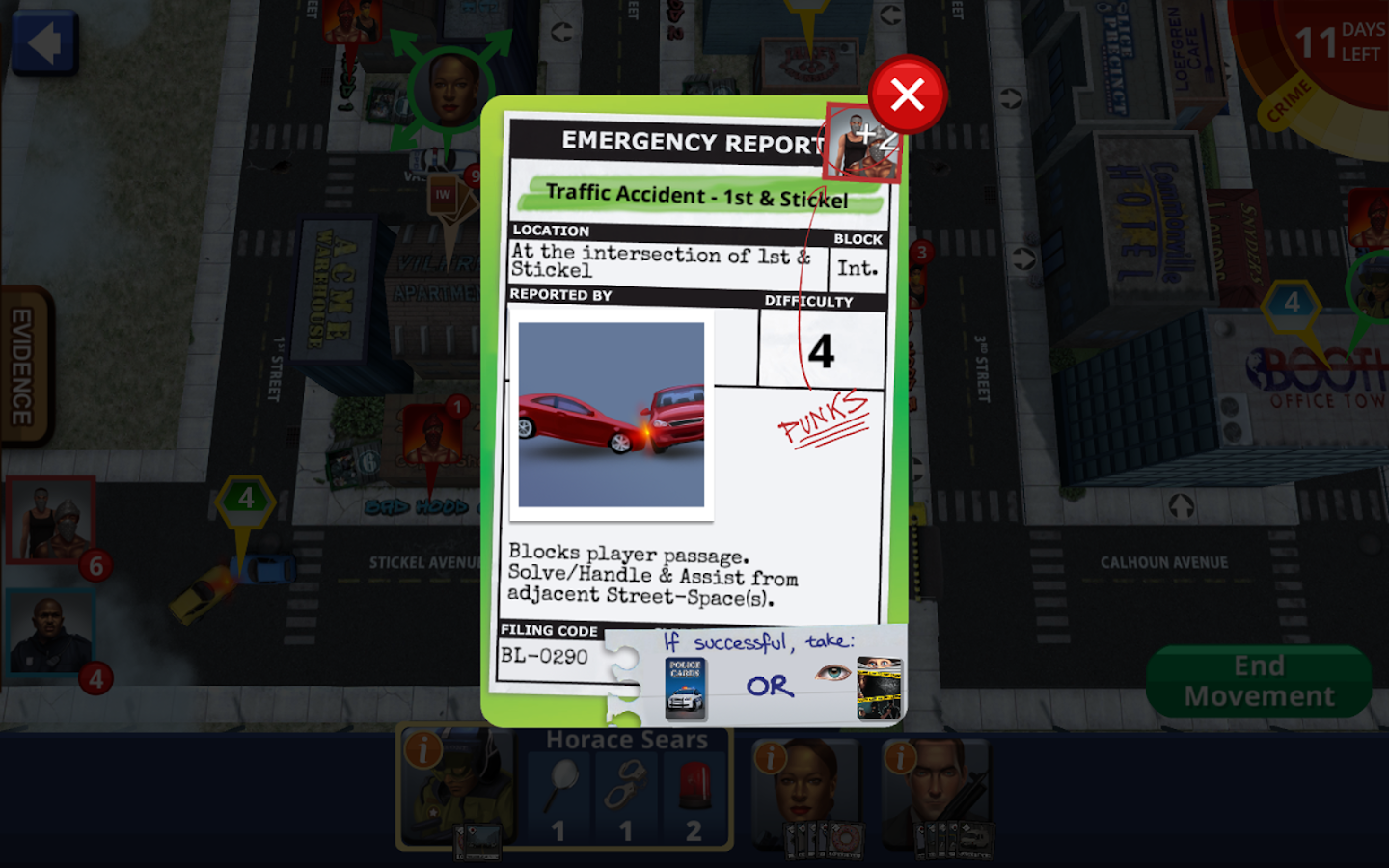 Police Precinct: Online Screenshot 9