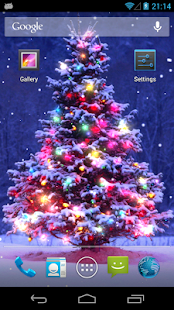 Christmas Live Wallpaper Screenshot