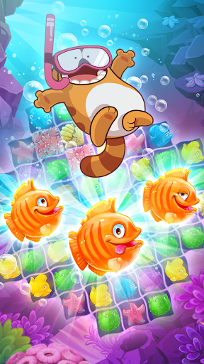Viber Mermaid Puzzle Match 3 screenshot 6