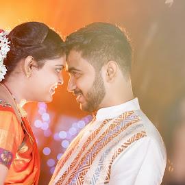 Bonding  by Rathin Dey - Wedding Reception