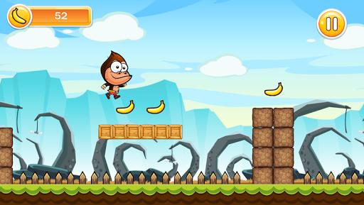 Super gorilla banana kong run - screenshot
