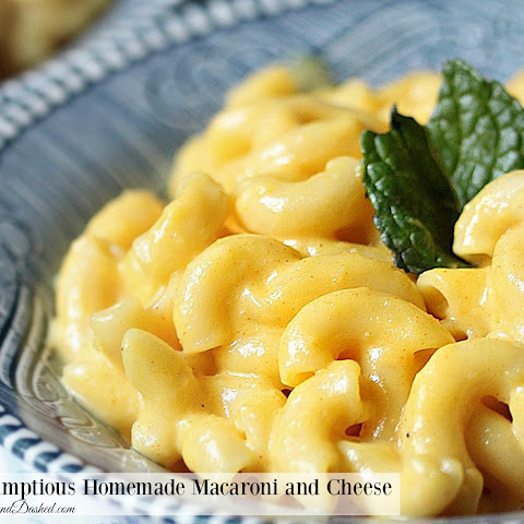 Scrumptious Homemade Macaroni and Cheese