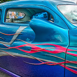 Flames by Ray Ebersole - Transportation Automobiles