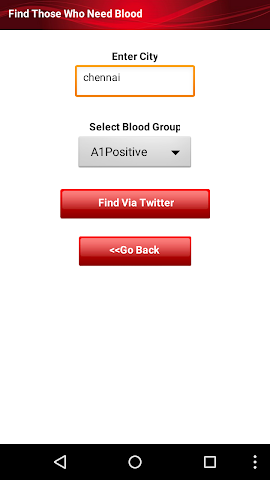 android BloodMe Screenshot 3