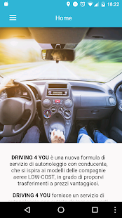 Driving4You - screenshot