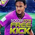 Free Kick 2018 - Mutiplayer Football Game APK for Bluestacks