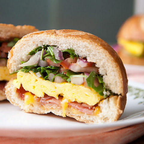 Hard Roll Breakfast Sandwich