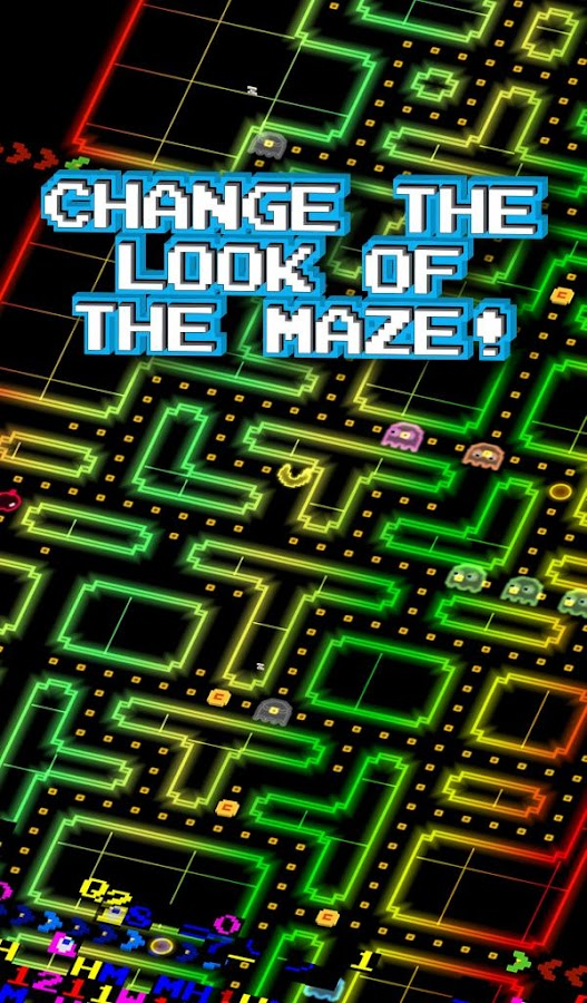 PAC-MAN 256 - Endless Maze Screenshot 1