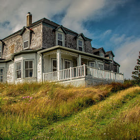 This Old House by Rita Taylor - Buildings & Architecture Decaying & Abandoned ( architecture, house, deserted, decay )