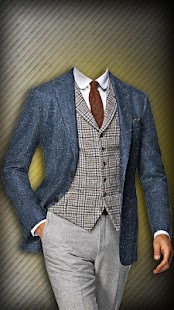 Men Fashion Suit Photo Maker - screenshot