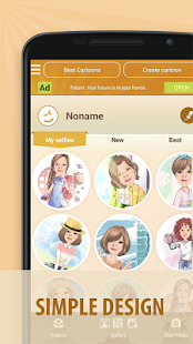 App Moments Cartoon Caricature - selfie network cam APK for Windows Phone