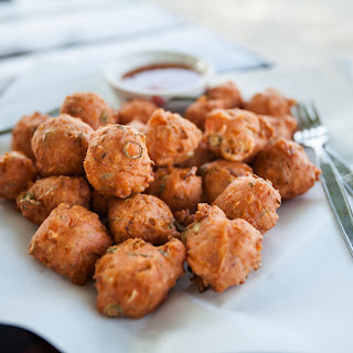 Fried Asian Meatballs