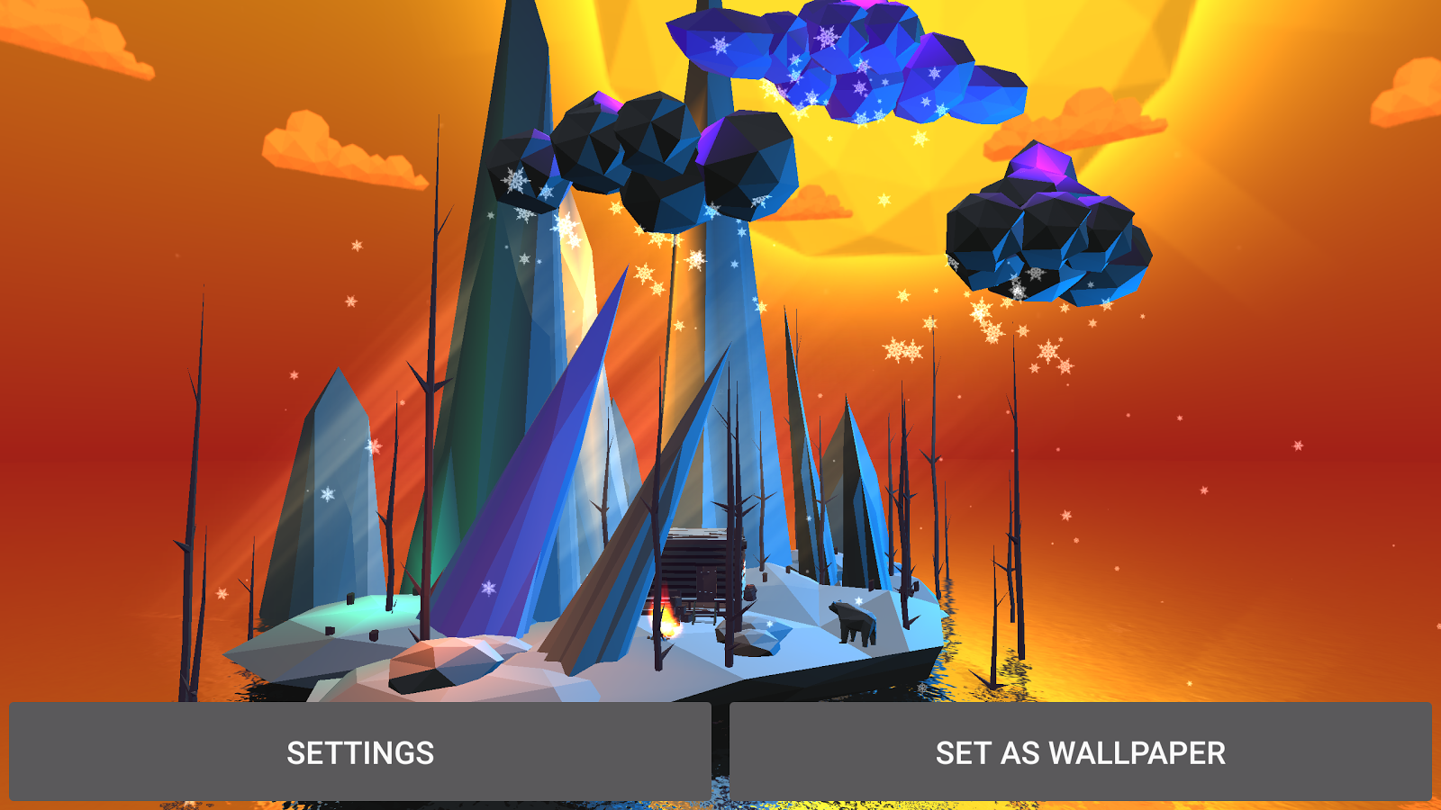 Poly Island 3D Live Wallpaper Screenshot 14