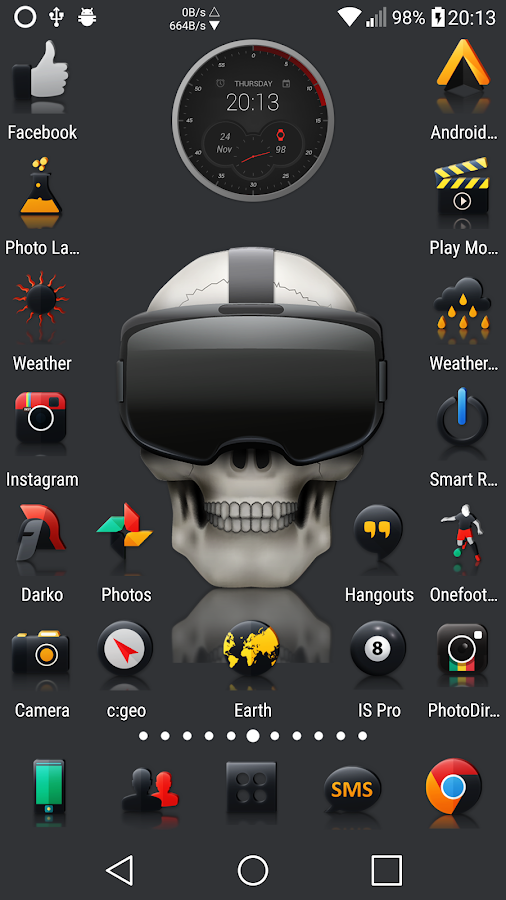 Darko 2 - Icon Pack Screenshot 4
