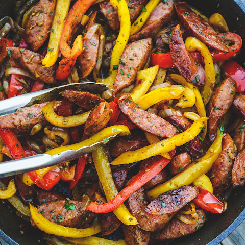 Skillet Sausage & Peppers