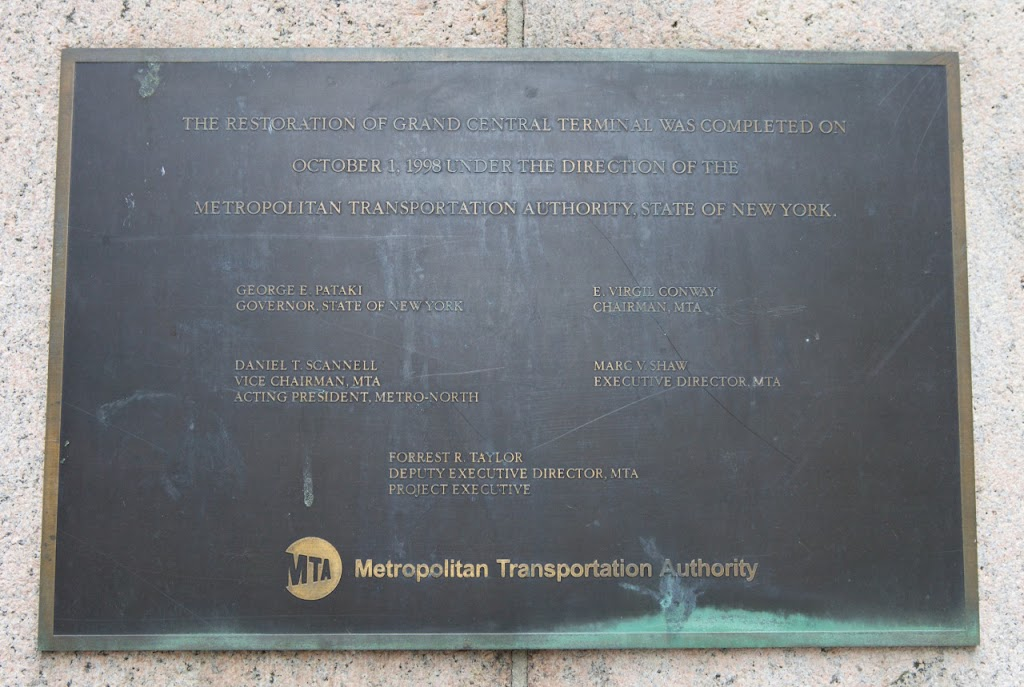 Plaque via Jack Curry's site Dedicated NYC. Original page here.