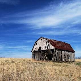 Barn @ rural Boston Arkansas by Joel Mcafee - Landscapes Travel ( farm, dilapidated, old, barn, rural )