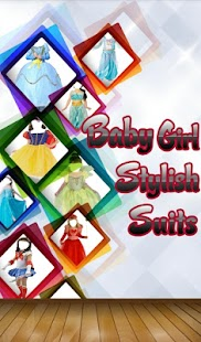 Baby Girl Stylish Suit - screenshot