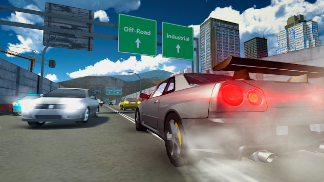 Extreme Pro Car Simulator 2016 APK screenshot thumbnail 3