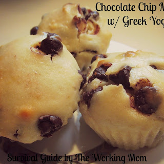 Greek Yogurt Chocolate Chip Muffin