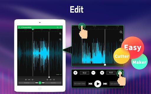 Ringtone Maker - Mp3 Editor & Music Cutter screenshot 7