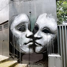GRAFITTI EN CENTENARIO by Jose Mata - City,  Street & Park  Neighborhoods
