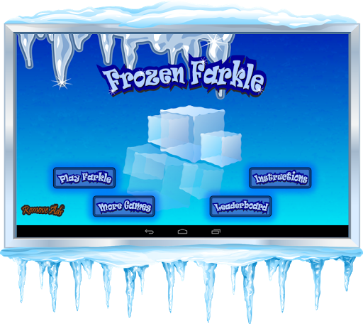 Frozen Farkle - Ice Dice - screenshot
