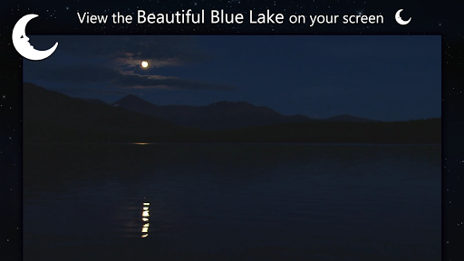 Romantic night at lake - screenshot