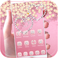 Theme Rose Gold Diamond APK Descargar