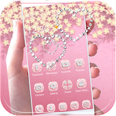Theme Rose Gold Diamond APK for iPhone