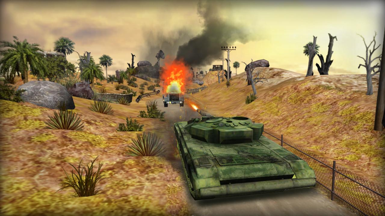 Clash of Tanks Screenshot 3